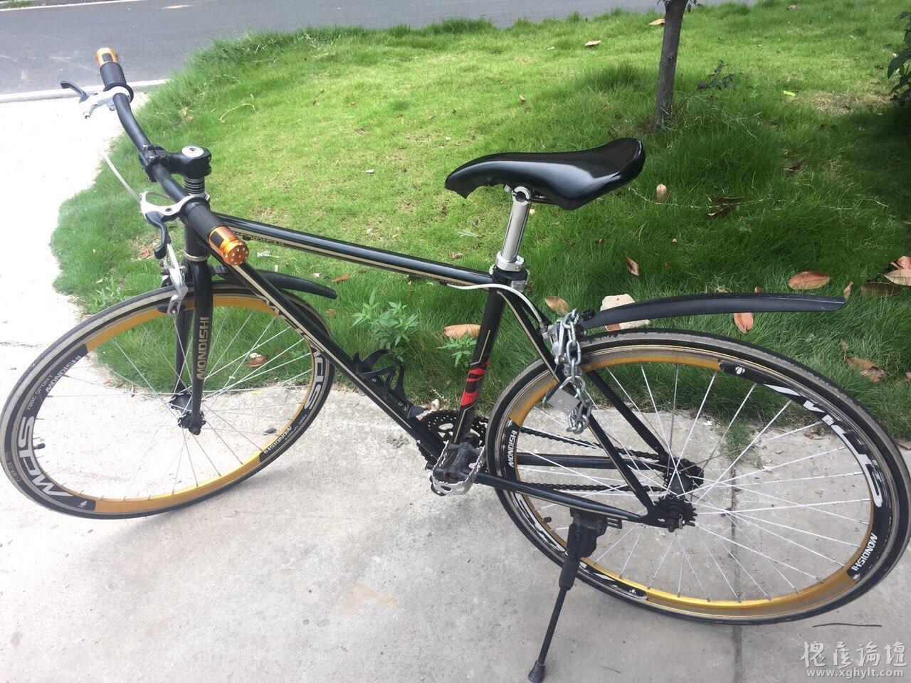 9成新自行车低价转让!