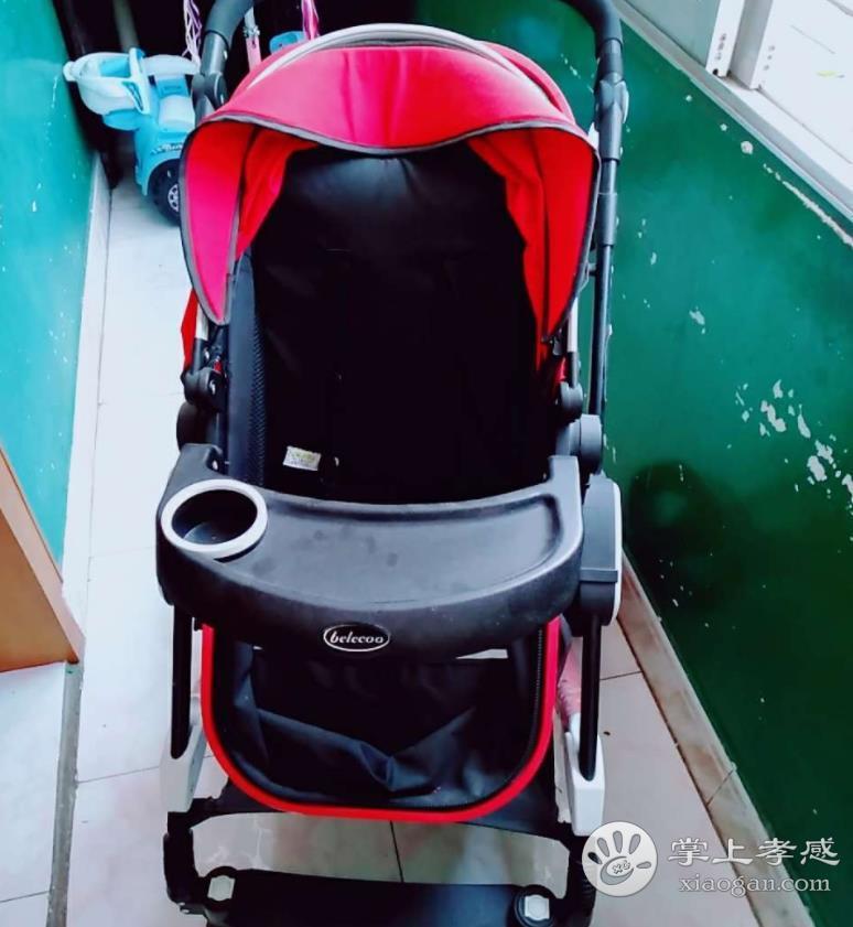 高景观婴儿车可坐可睡,99成新