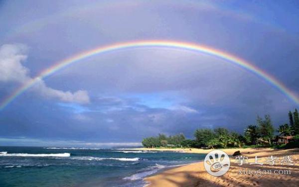 孝感天空的彩虹你有多久没有见过了?与彩虹来一场偶遇吧!