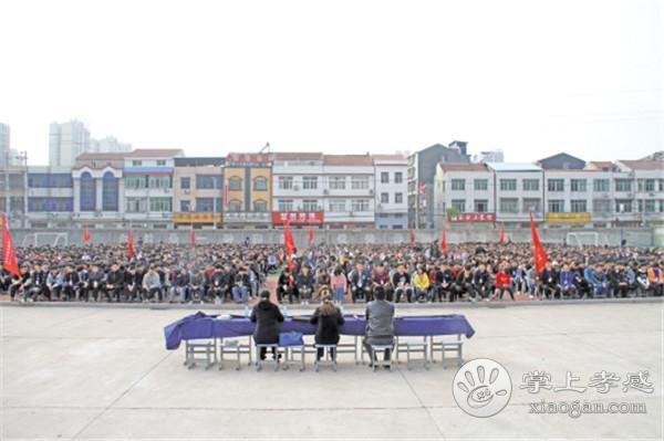 汉川法院深入中职学校进行普法宣传教育