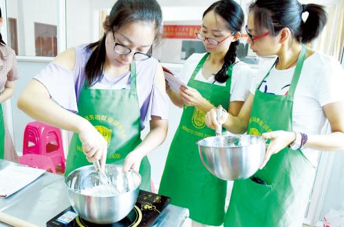 孝感女子不用担心创业问题了!烘焙技能培训课程等你来![图1]