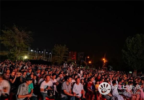 孝感市博物馆24日晚举行了中秋祭月大典!和市民欢度中秋![图1]