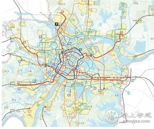 武汉轨道远景规划7条市域铁路!孝感线、汉川线确定了![图3]