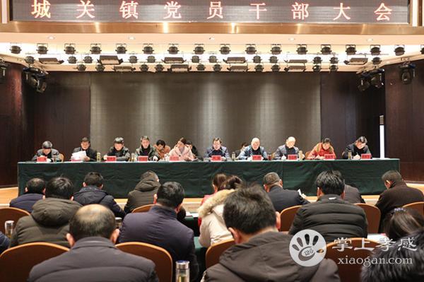 大悟县城关镇召开2019年党员干部大会[图1]
