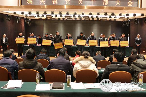 大悟县城关镇召开2019年党员干部大会[图2]