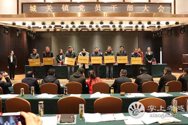 大悟县城关镇召开2019年党员干部大会[图3]