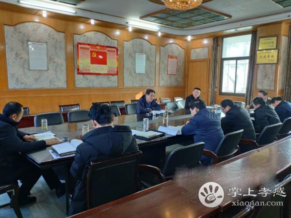 安陆市洑水镇召开2018年度领导班子民主生活会[图1]