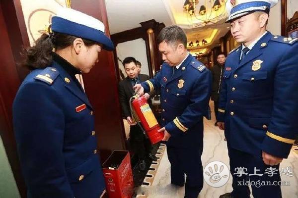 湖北省消防救援总队孝感支队集中开展元宵节夜查行动