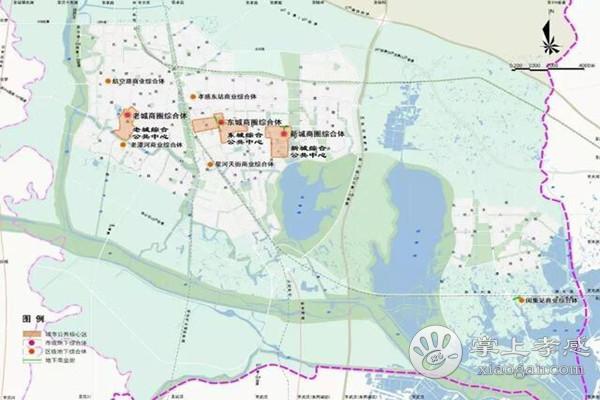 孝感地下空间新规划曝光:3处公共核心区,8处地下综合体[图3]