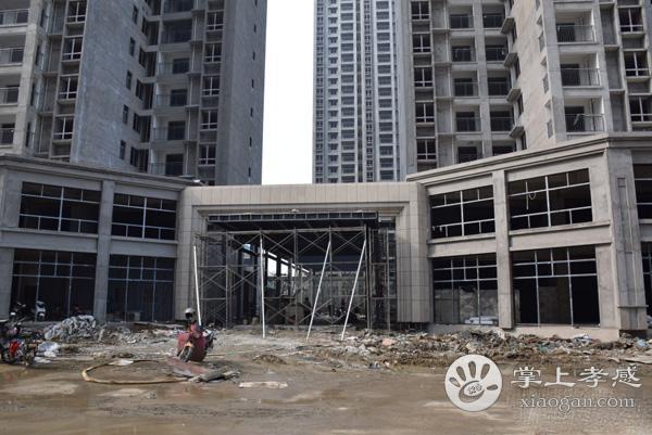 香港城裕华苑楼栋2月施工进度
