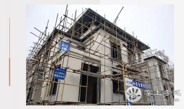 孝感新城玺樾3月进度:外架基本拆除完成