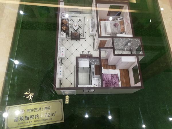 兴隆庭院,孝南城区电梯房,2室2厅1卫,92平米,29万