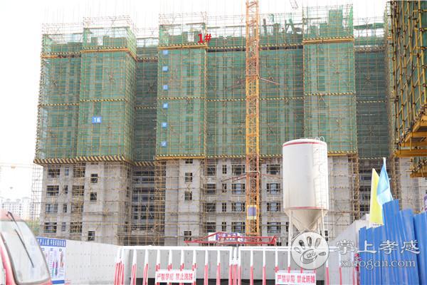 孝感保利香颂四月最新工程进度:1#建到13楼、2#建到7楼、3#建到14楼、9#建到8楼[图1]