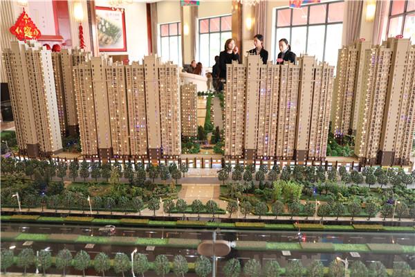 福星城128平精装房  三室两厅两卫  2000元/月