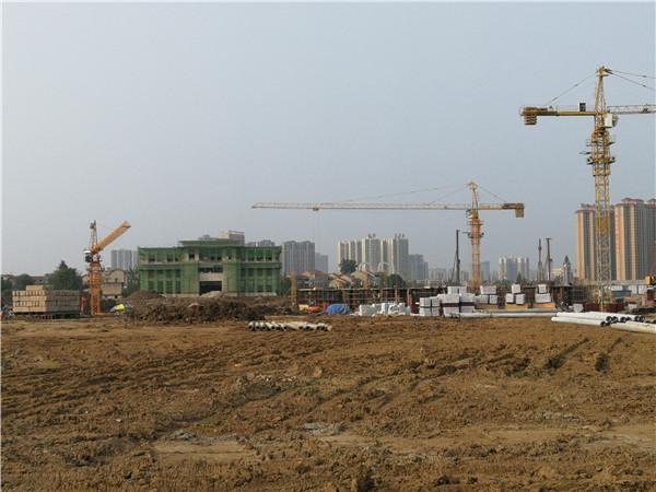 孝感南城区力标·澴河壹号院正在建设 ,南城区发展指日可待!