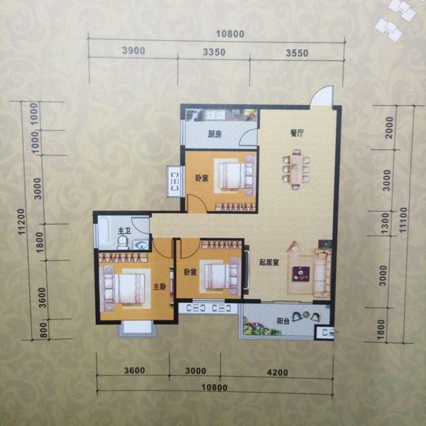 阳光学苑精装电梯房 实小文昌中学 精装未住房 3室2厅1卫 125平米86.8万