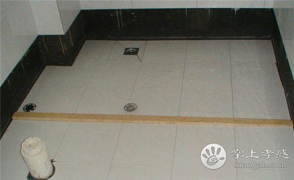 孝感人装修卫生间地漏安装在哪里好?孝感人装修卫生间地漏可以安装什么位置?[图3]