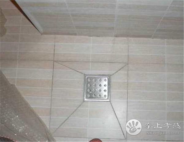 孝感人装修卫生间地漏安装在哪里好?孝感人装修卫生间地漏可以安装什么位置?[图5]