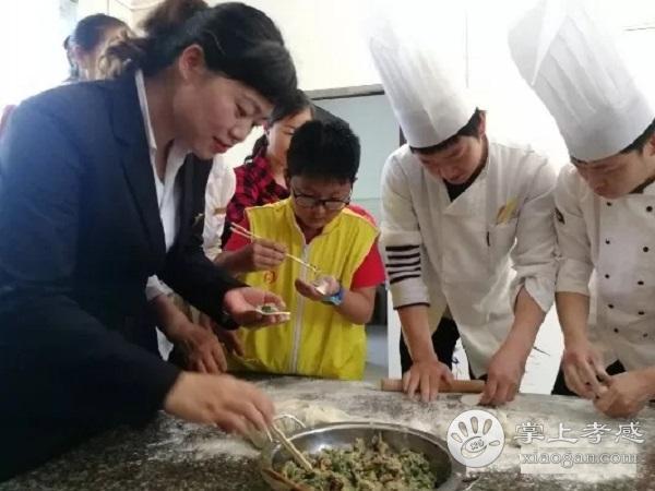 汉川公益小天使到庙头镇农村福利院送爱心[图5]