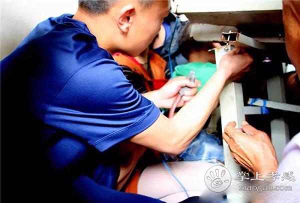 孝昌三岁男孩手卡进电子机器 危急时刻消防员紧急出动![图2]