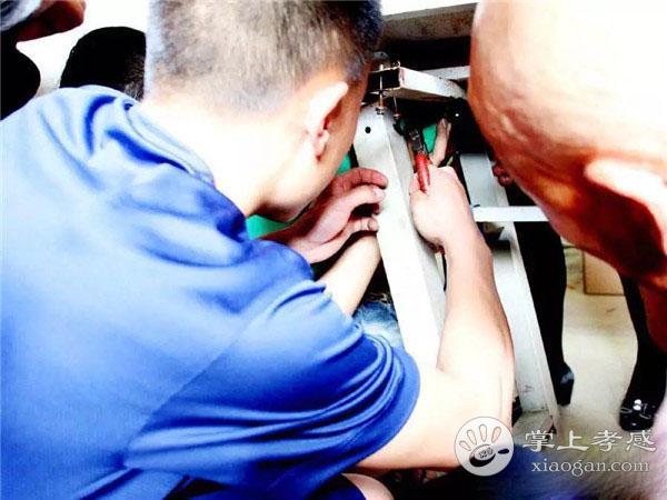 孝昌三岁男孩手卡进电子机器 危急时刻消防员紧急出动![图4]