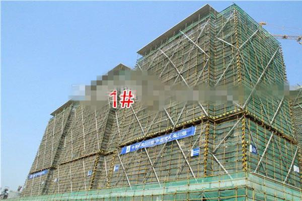 孝感当代拾光里MOMΛ5月工程进度:3#楼已建至第10层