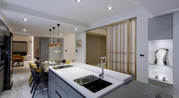 孝感装修开放式厨房应该如何做隔断呢?开放式厨房的隔断应该怎么做?