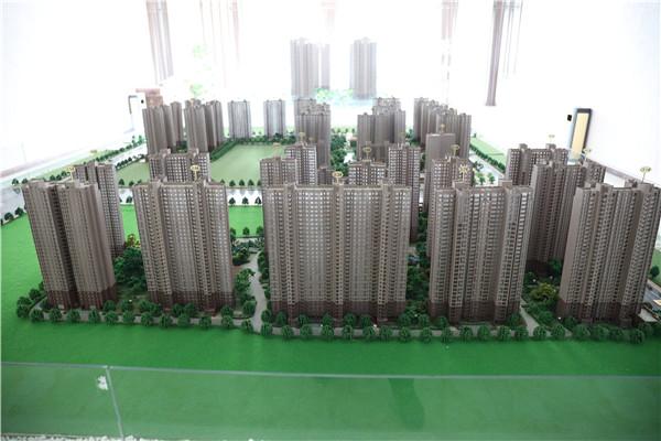 孝感国风鸿城是怎么设计的?孝感国风鸿城沙盘模型实拍一览!