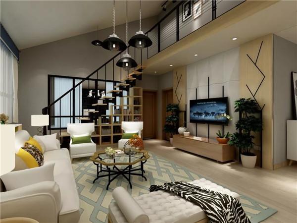 孝感复式房楼梯下空间如何利用?复式新房楼梯下空间装修方法!