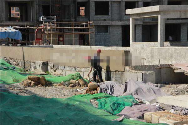 孝感新华时代广场二期5月进度:6#楼在建外立面