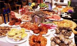 鑫谷一烤肉火锅海鲜自助餐厅
