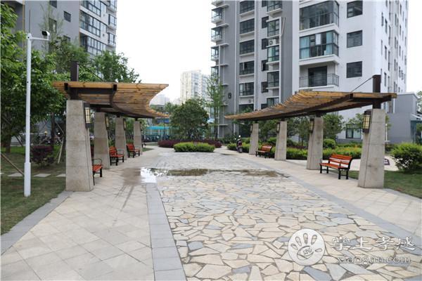孝感华厦博园二期7月份工程进度:G1#建至第14层,G2#建至第2层
