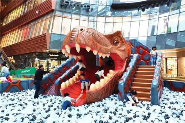 孝感银泰城美吉乐恐龙乐园7月7日开业!穿越侏罗纪的梦想即将实现!