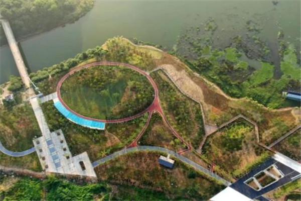 投资2.1亿!安陆府河国家湿地公园航拍最新进展