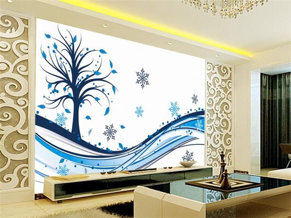 孝感新房设计手绘电视背景墙要注意什么?手绘电视背景墙注意事项介绍