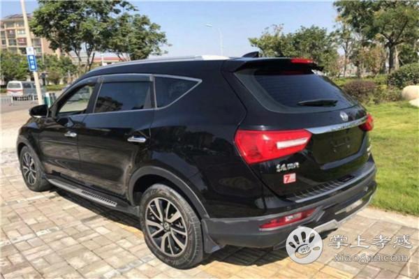 东风风光 风光580 2016款 改款 1.5T CVT豪华型 6.45万