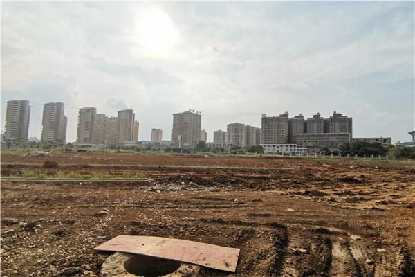 孝感远大学校8月新工程进度:初中教学楼在建第二栋