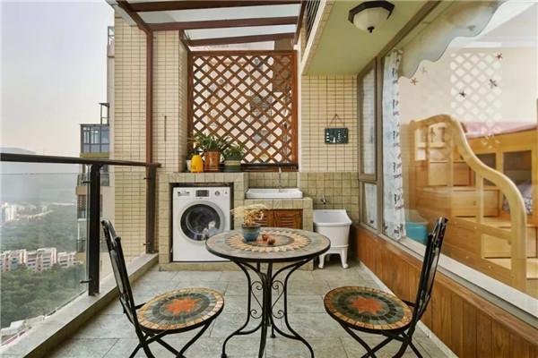 孝感阳台装修应该贴什么墙砖?什么类型的墙砖比较耐脏?