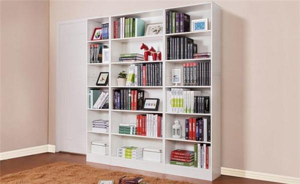 孝感新房装修选择开放式书柜好吗?开放式书柜好处介绍