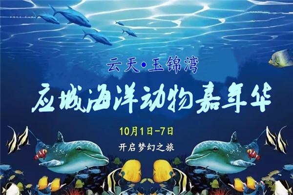 应城奇趣海洋动物嘉年华2019年国庆来袭!快来开启你的梦幻之旅吧!