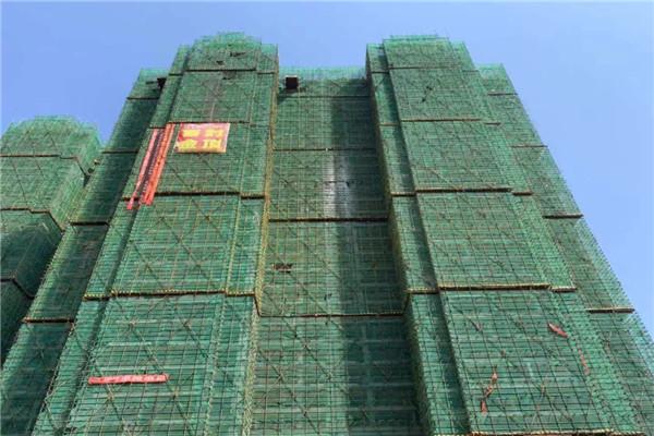 孝昌华耀府东花园10月工程进度:1号楼内部隔断已完成,2号楼内部隔断已施工至23层