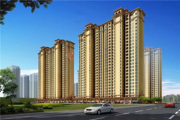 宇济城中城 精装房 3室2厅1卫 131平米 带大阳台 证满税低 58万
