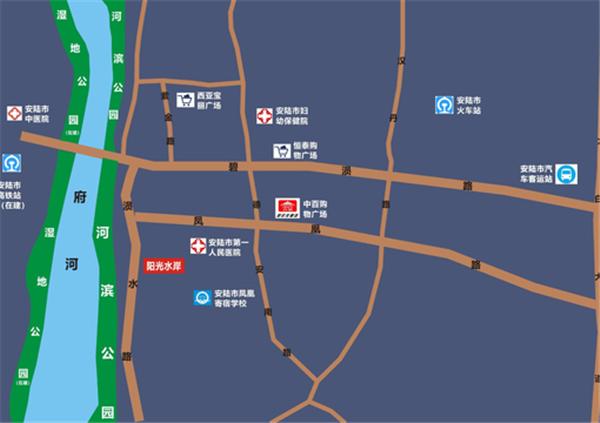 安陆阳光水岸交通便利吗?安陆阳光水岸附近交通情况介绍