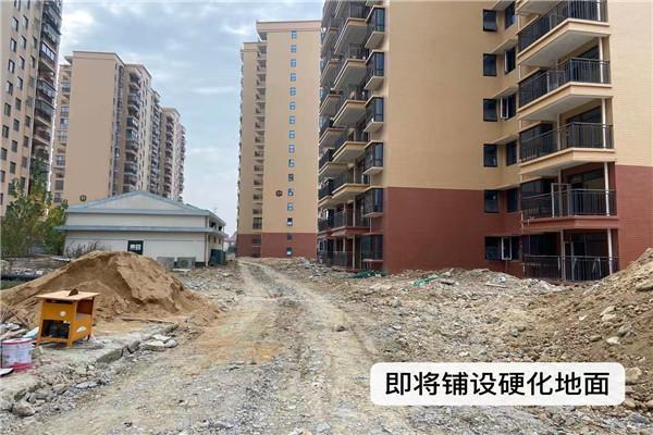 孝感金桂园11月工程进度:7#楼外立面已建好,23#、24#楼主体已具备验收条件