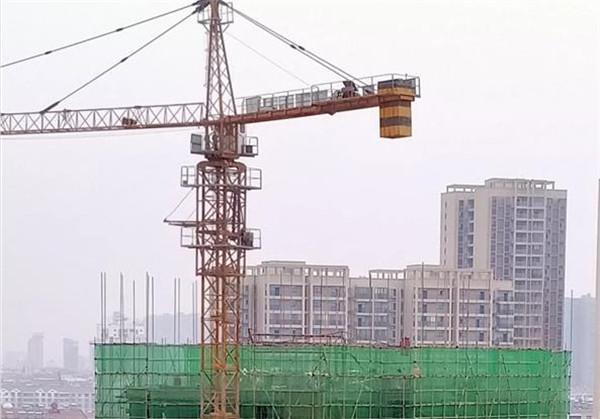 孝感金域国际11月工程进度:18号楼施工至14层