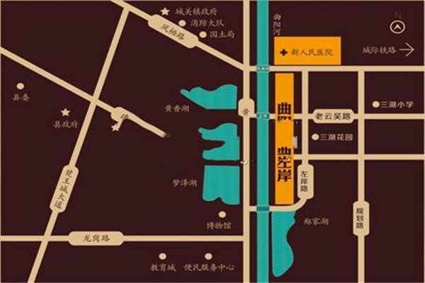 云梦左岸公馆交通怎么样?云梦左岸公馆交通便利吗?