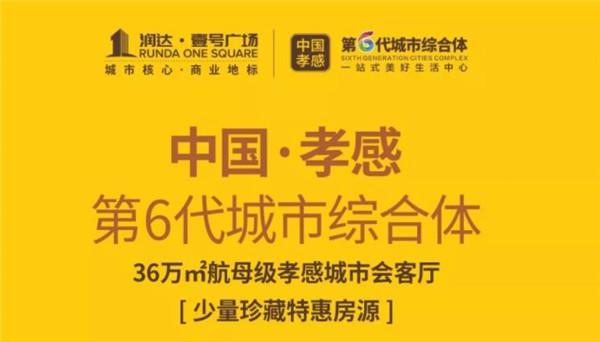 孝感润达壹号创新型购物中心12月7日全城首开!鎏金旺铺热销!