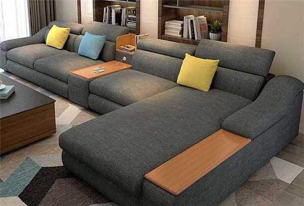 孝感客厅装修买布艺沙发好吗?布艺沙发优缺点介绍