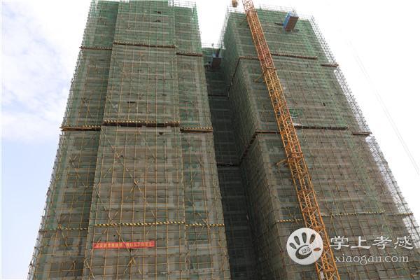 孝感金一珅港5月份工程进度:5#/7#/8#即将封顶,6#楼建至第四层[图1]