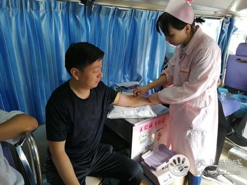 卧龙乡卫生院组织干部职工参加无偿献血活动[图1]